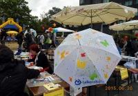 Regenschirmaktion der Lebenshilfe e.V. Berlin