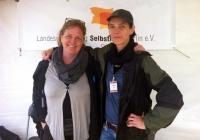 Foto Isa Edelhoff & Stephanie Loos (Öffentlichkeitsarbeit und Koordination SH-TAG)